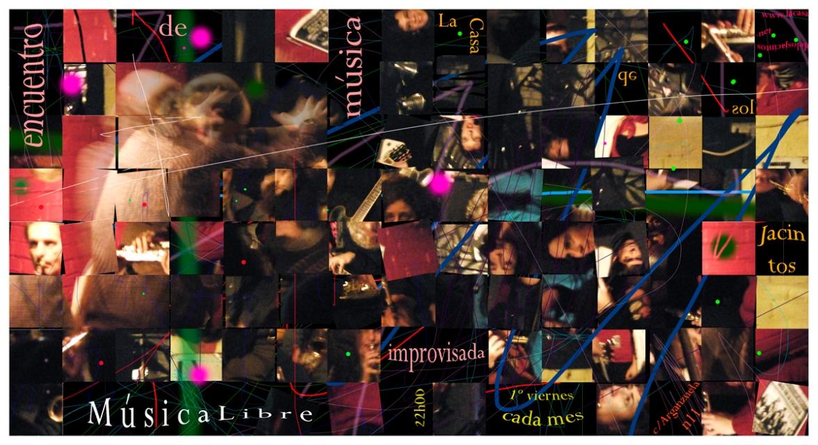 Orquesta Foco más que al completo. Febrero 2008